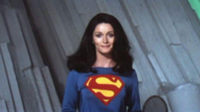 Lois Lane 1978, prueba de vestuario de Margot Kidder