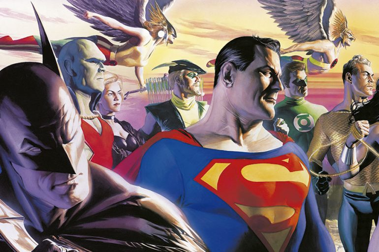 Top 10: portadas de Alex Ross para DC