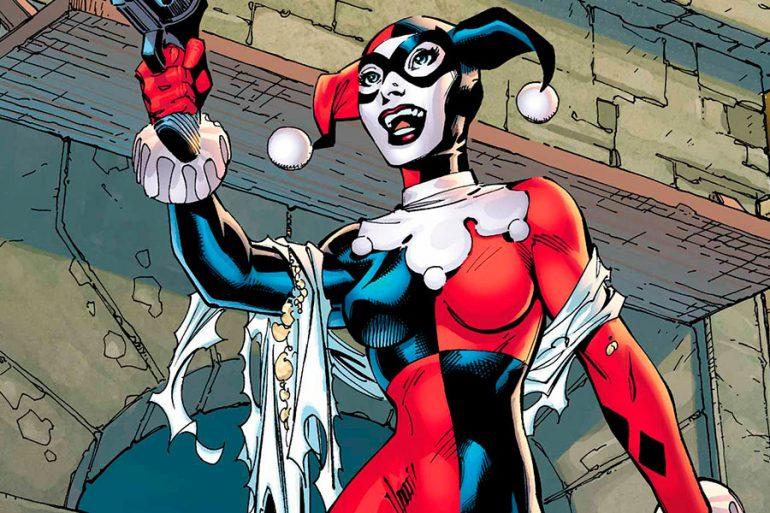 Avalancha cosplay de Harley Quinn