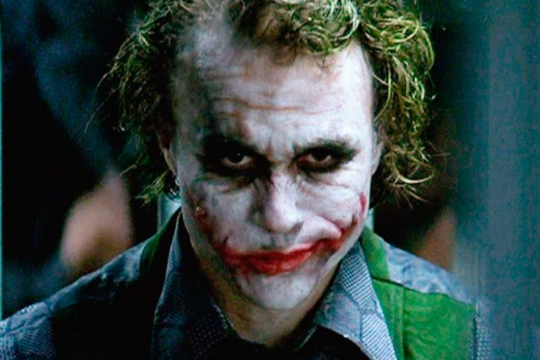 La creación de Joker de Heath Ledger