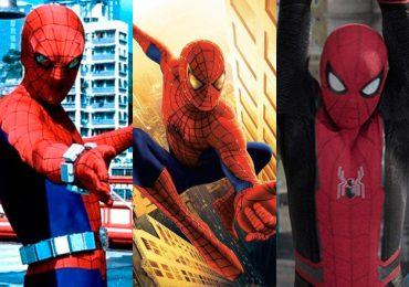 La evolución del traje de Spider-Man en el cine