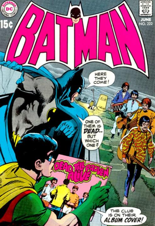 The Beatles y su vínculo con DC Comics