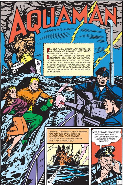 Las versiones de Aquaman que se han presentado a lo largo de su historia en cómics, series, películas y animación.