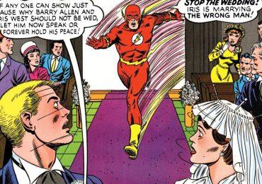 Así fue la boda de Barry Allen e Iris West en los cómics