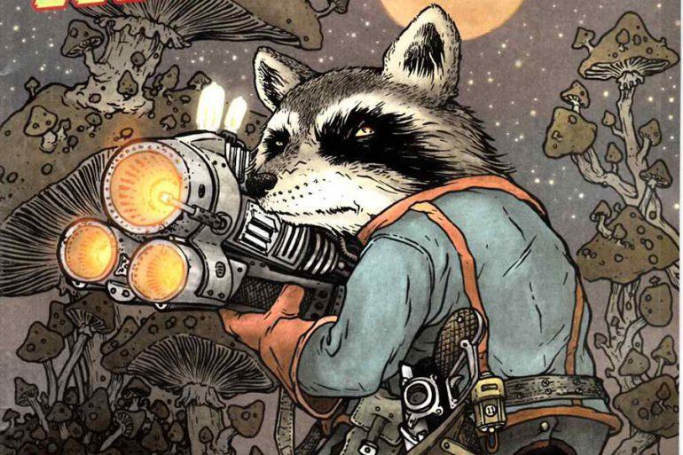 Rocket Raccoon salvó la vida de su creador