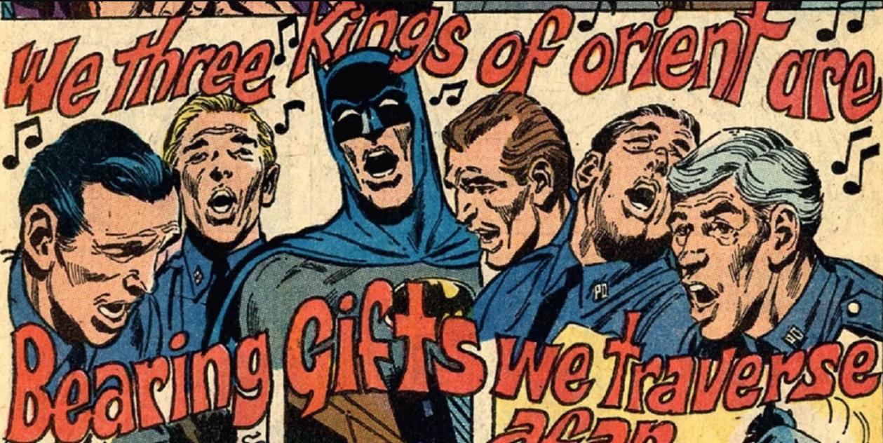 Batman #219 Navidad