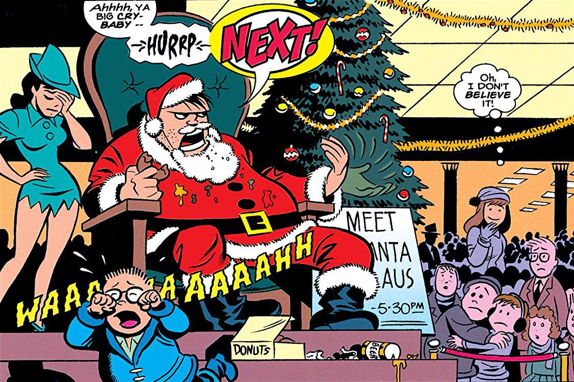The Batman Adventures Holiday Special #1 (1995) Navidad