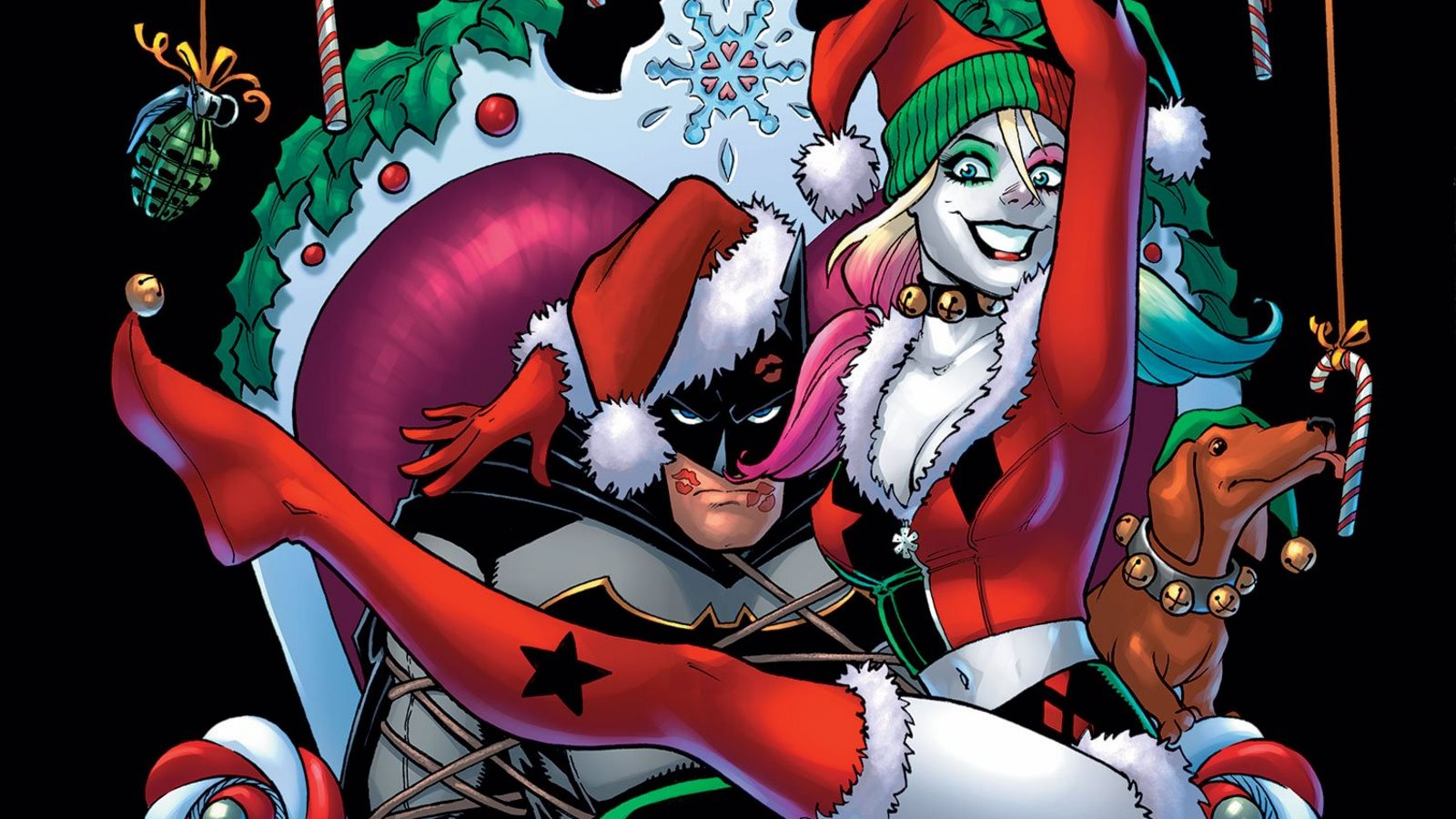 161 Hasta Los Villanos De Dc Comics Festejan La Navidad