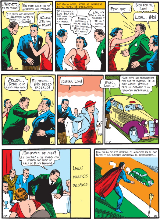 ¿Por qué Superman destroza un auto en Action Comics #1?