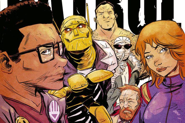 Los superhéroes más extraños del mundo... ¡Doom Patrol!