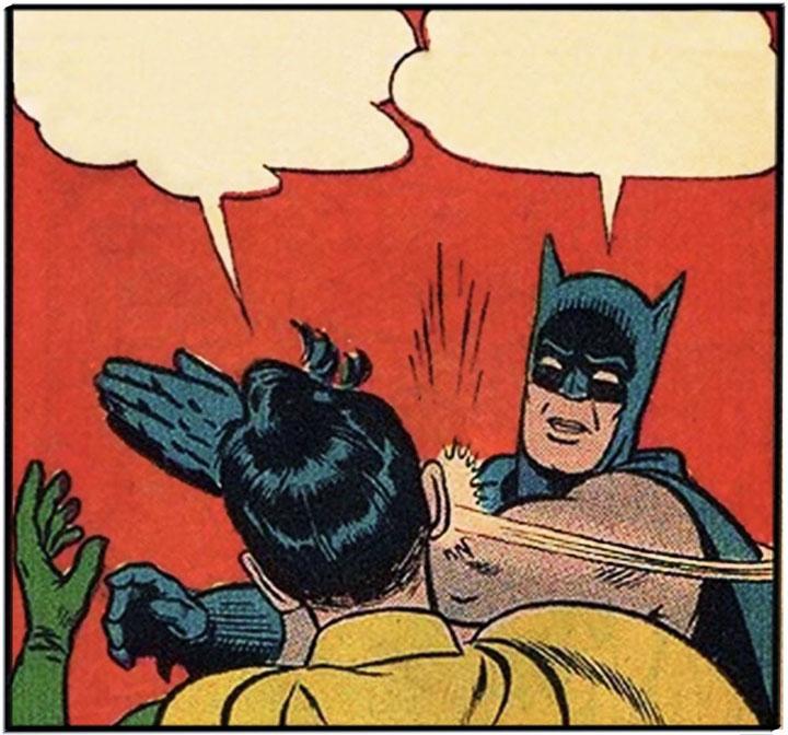 La historia detrás del meme: Batman y Robin