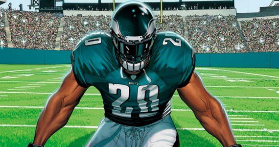 La historia de la mascota de los Philadelphia Eagles, contada por Marvel
