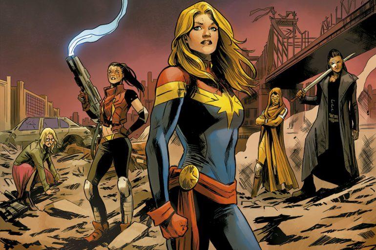 Trajes de Captain Marvel a lo largo de la historia