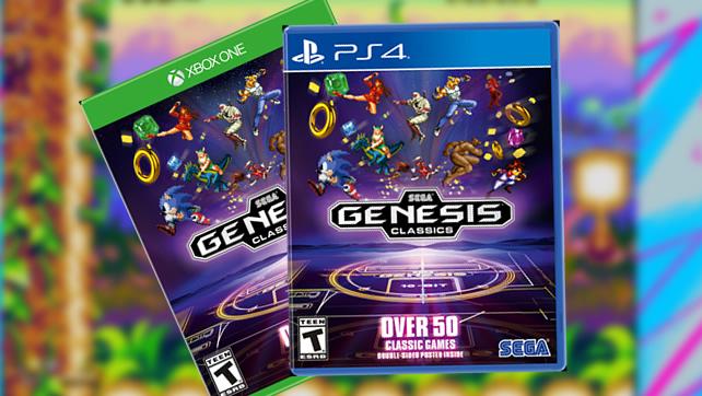 Revive Los 90 Con Sega Genesis Classics Para Ps4 Y Xbox One
