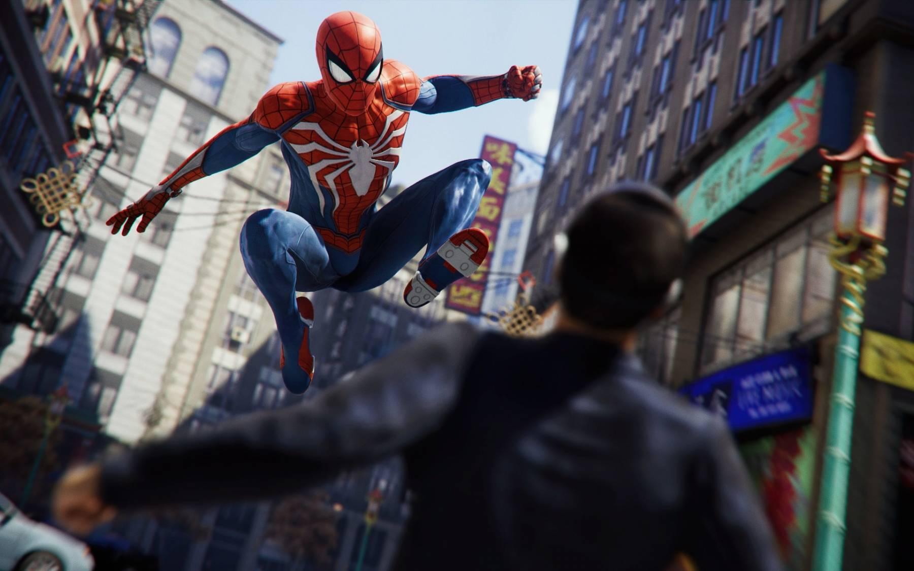 Spider Man De Ps4 Podria Tener Un Universo De Juegos De Marvel Marvel