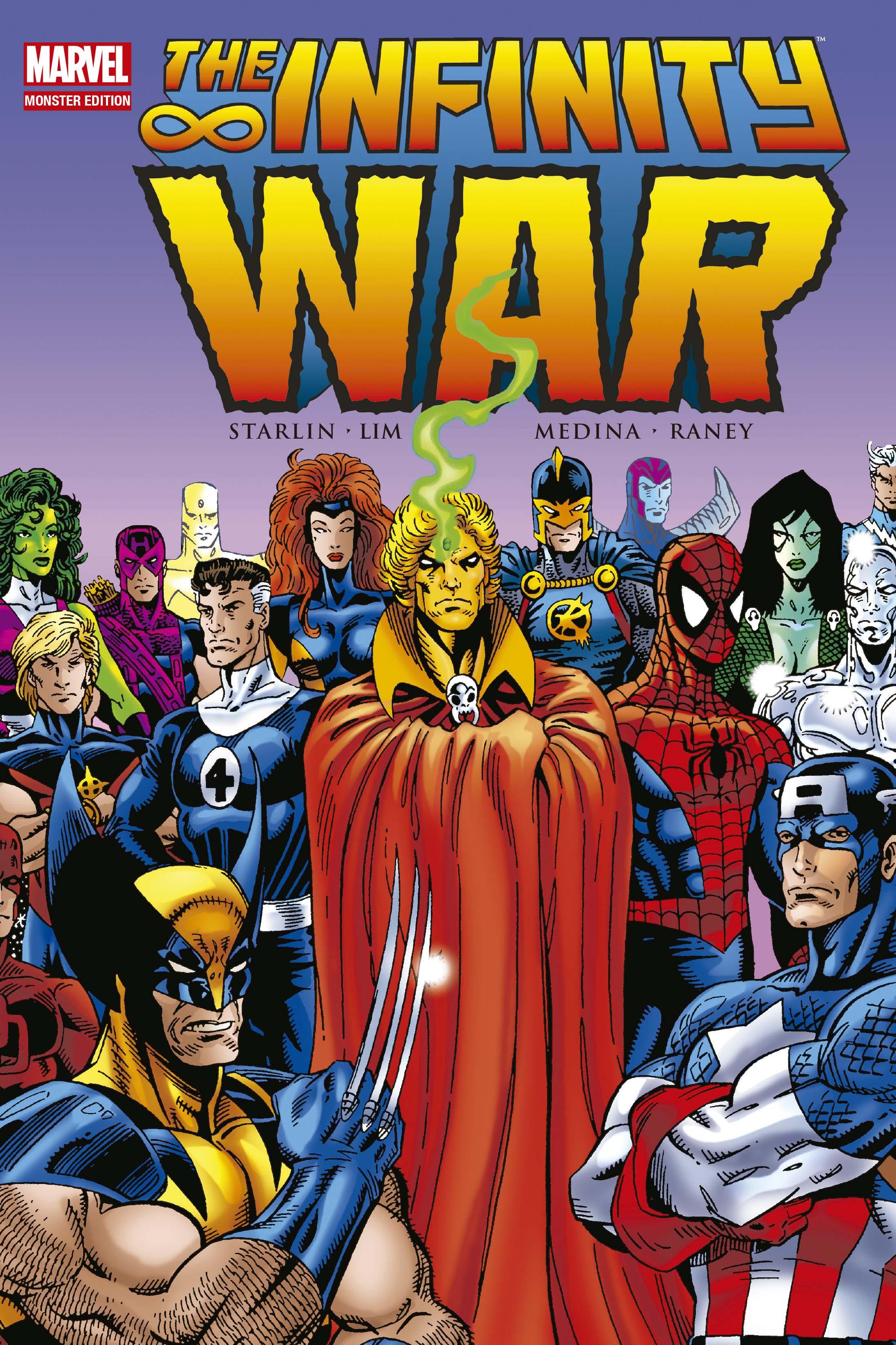Infinity War Comic Handlung
