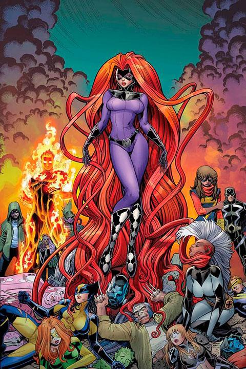Heroínas que han formado parte de Fantastic Four