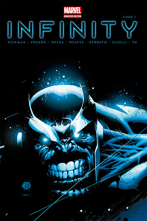 Marvel Monster Edition Infinity Libro 1