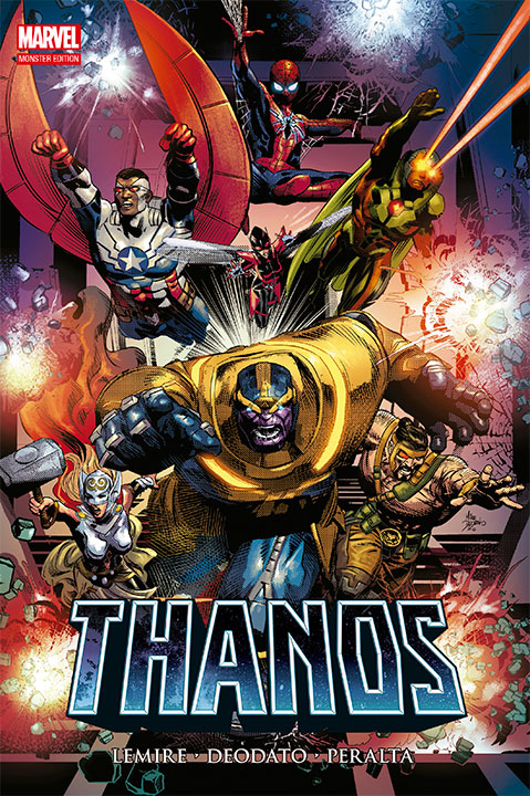 Marvel Monster Edition Thanos Regresa