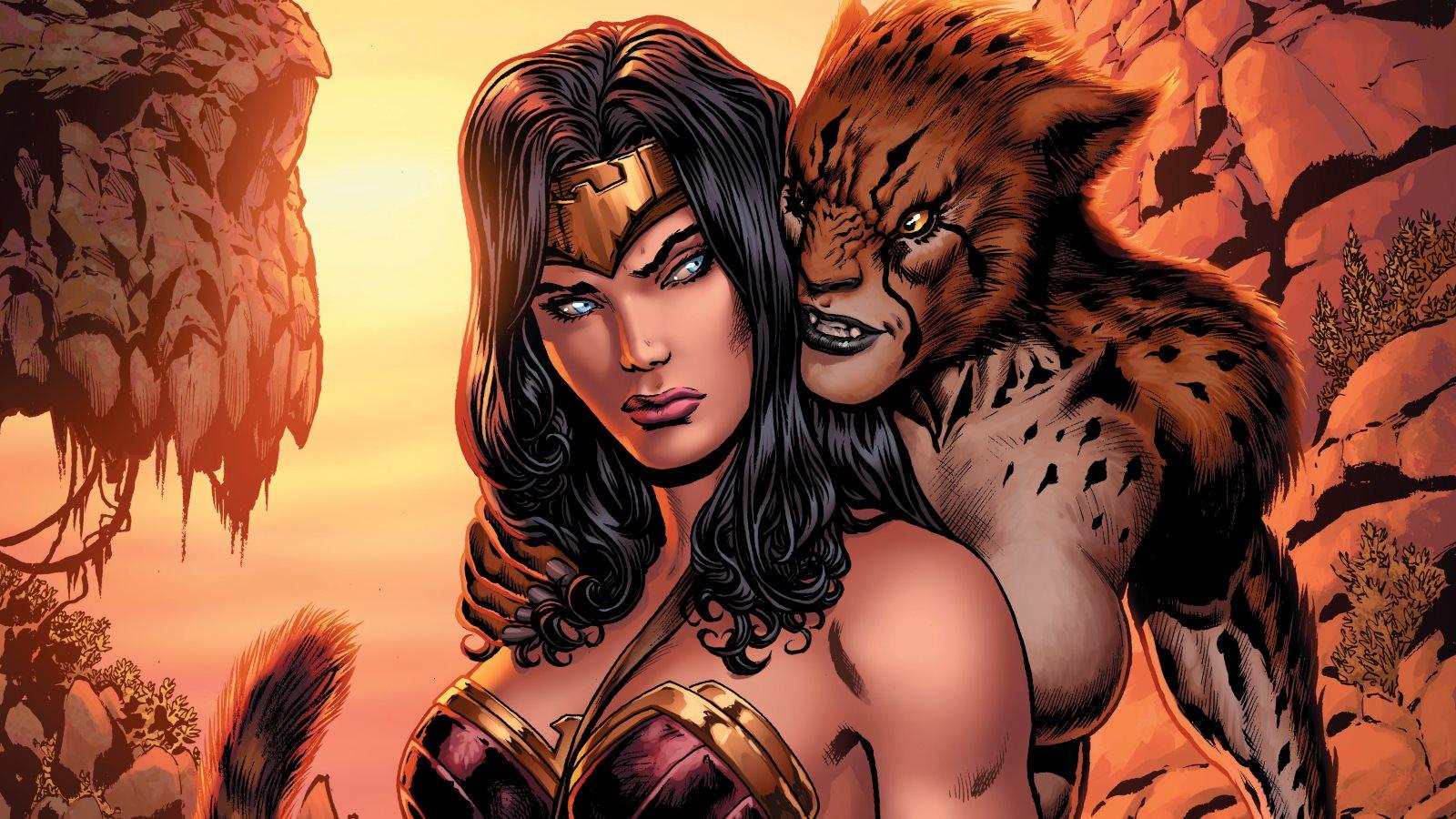 Resultado de imagen de cheetah wonder woman