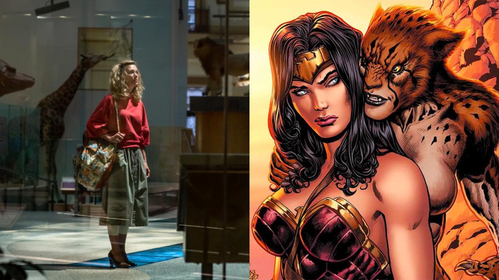 Primer vistazo a Barbara Ann Minerva en Wonder Woman 1984!   DC Comics