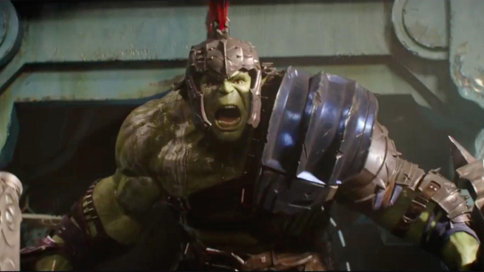 Descubre el primer diseño de la armadura de Hulk en Thor: Ragnarok