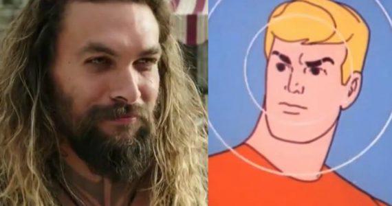 Disfruta del primer tráiler de Aquaman, en su versión animada