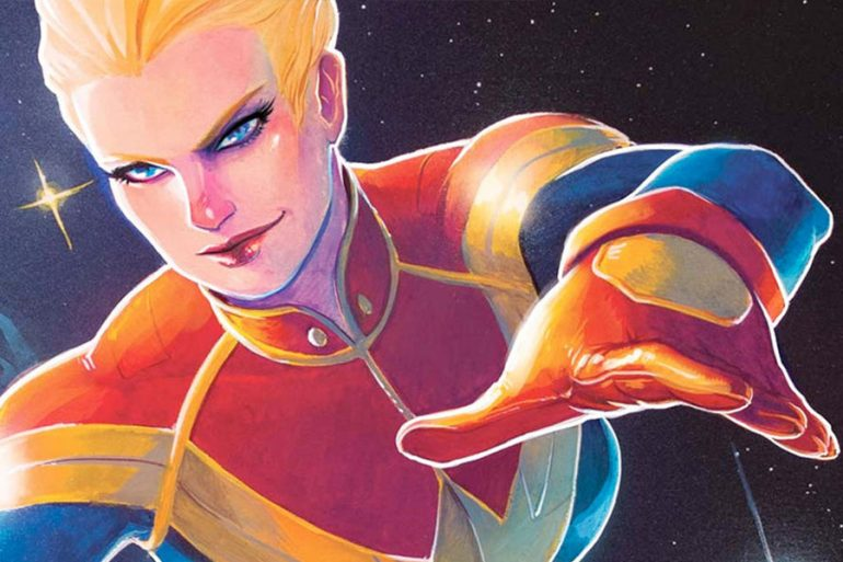 Conoce la historia de Carol Danvers, la Capitana Marvel