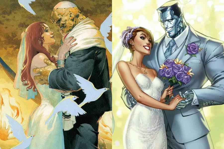 Matrimonio Tema Marvel : Las campanas de boda replican dentro el universo marvel