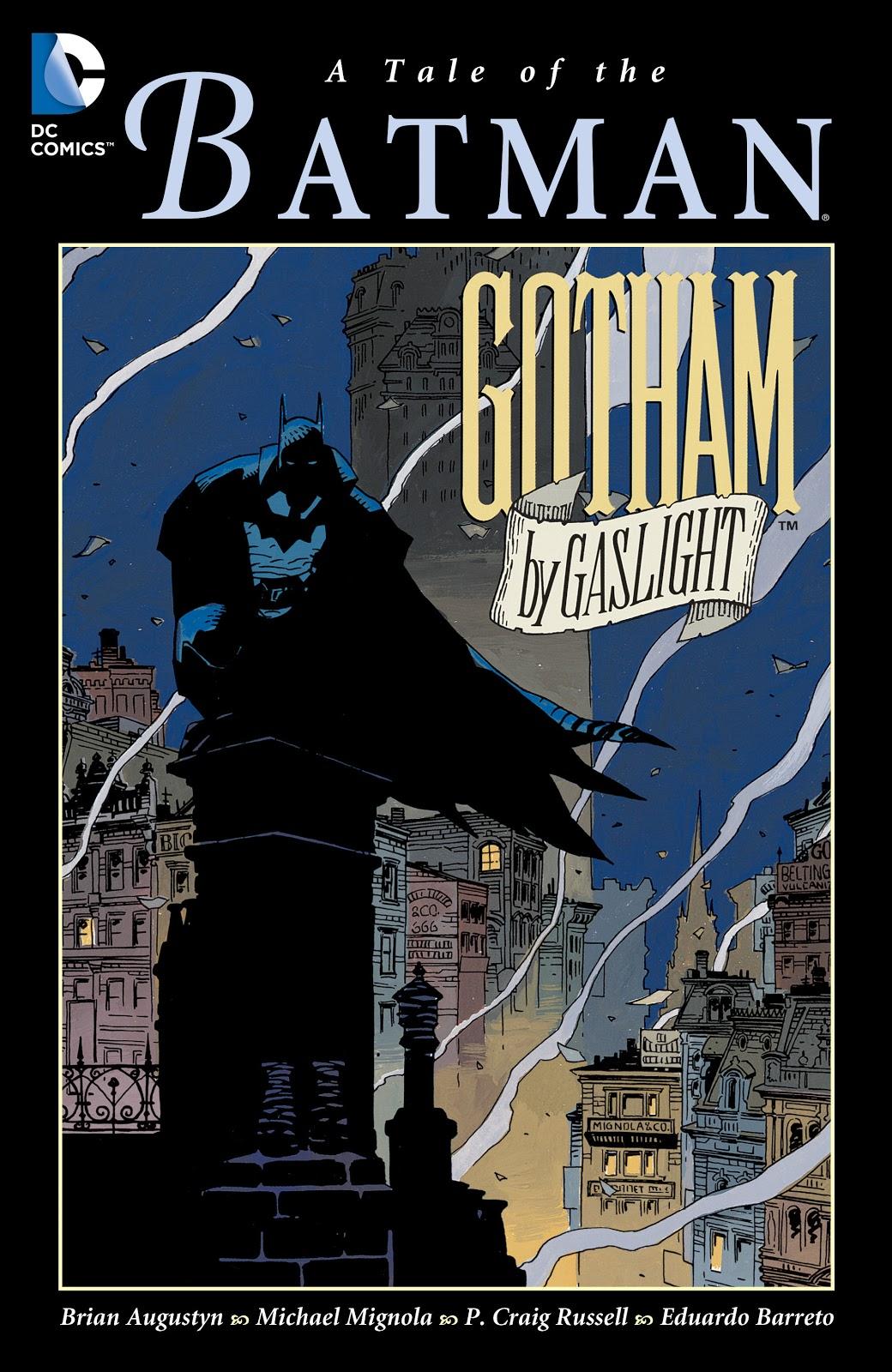 Batman Gotham by Gaslight Elseworlds