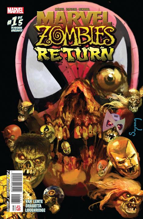 Marvel Semanal: Marvel Zombies Return #5 de 5