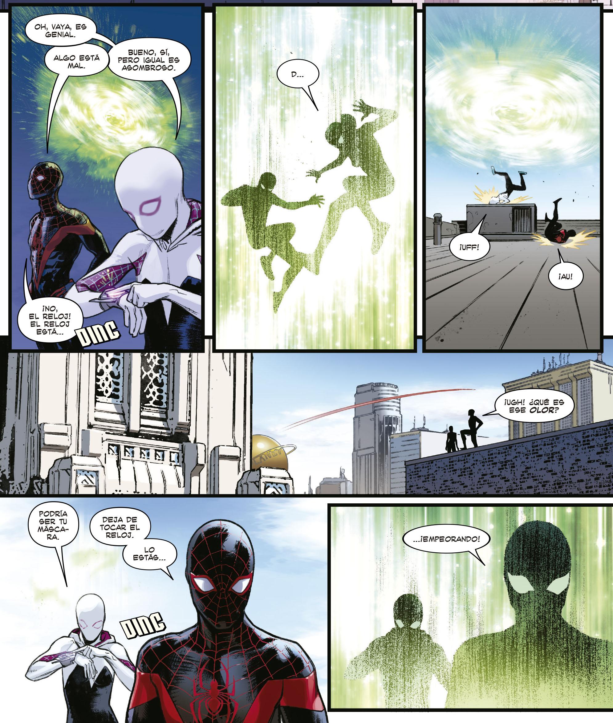 Miles Morales y Gwen Stacy, amor a través del multiverso