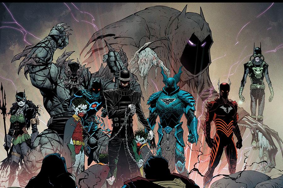 Los Caballeros Oscuros ¿Quién es quién en Dark Nights: Metal?