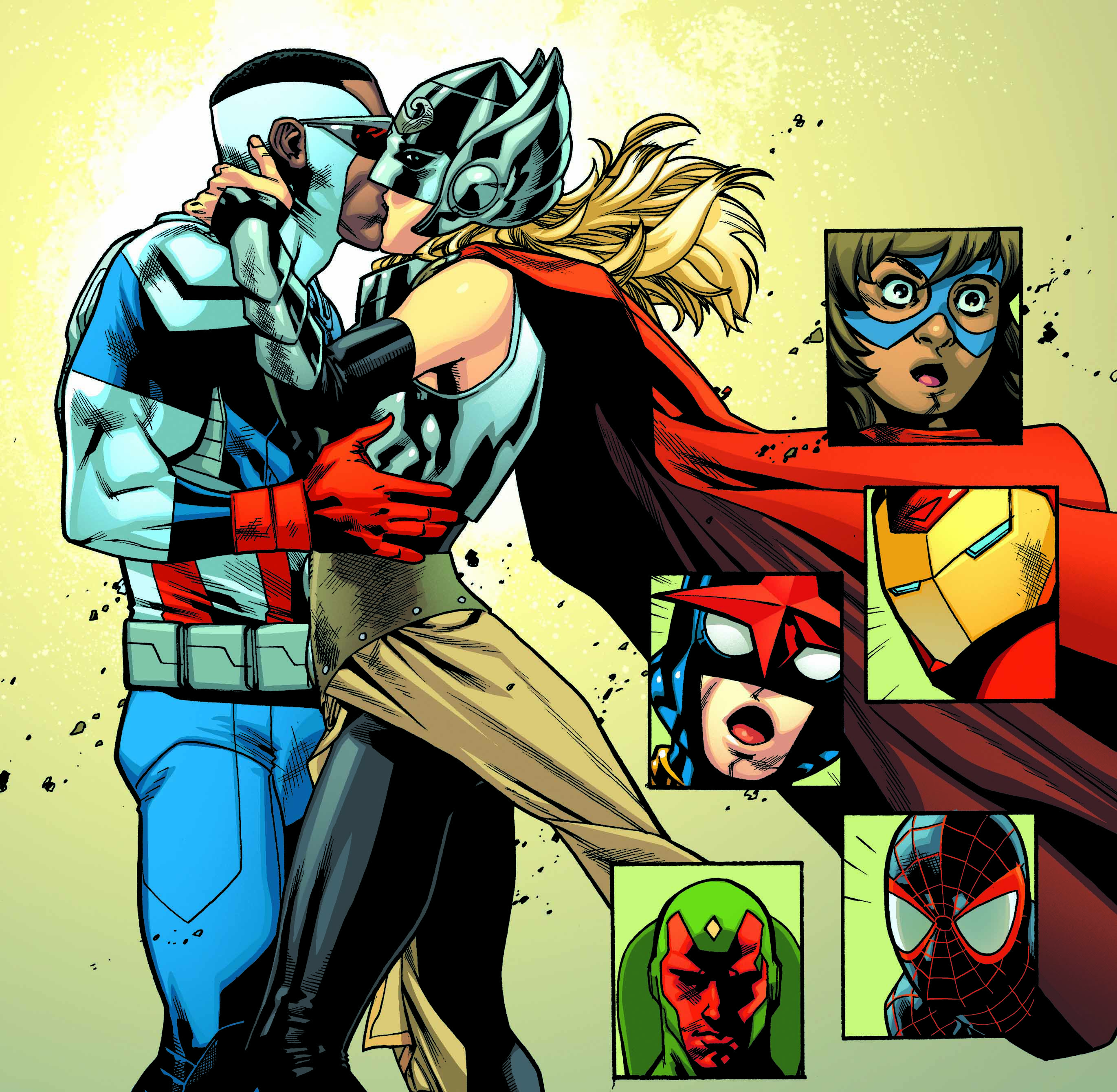 Top 5: Best Kisses on the Pages of Marvel Comics