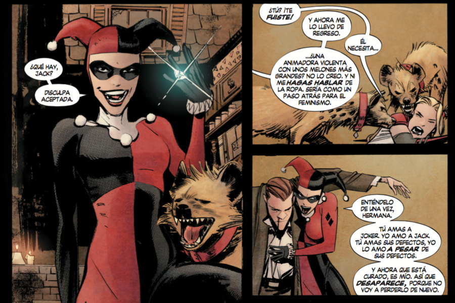 Quien Es Harley Quinn En Batman White Knight