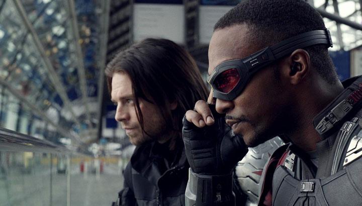 Falcon y Bucky.