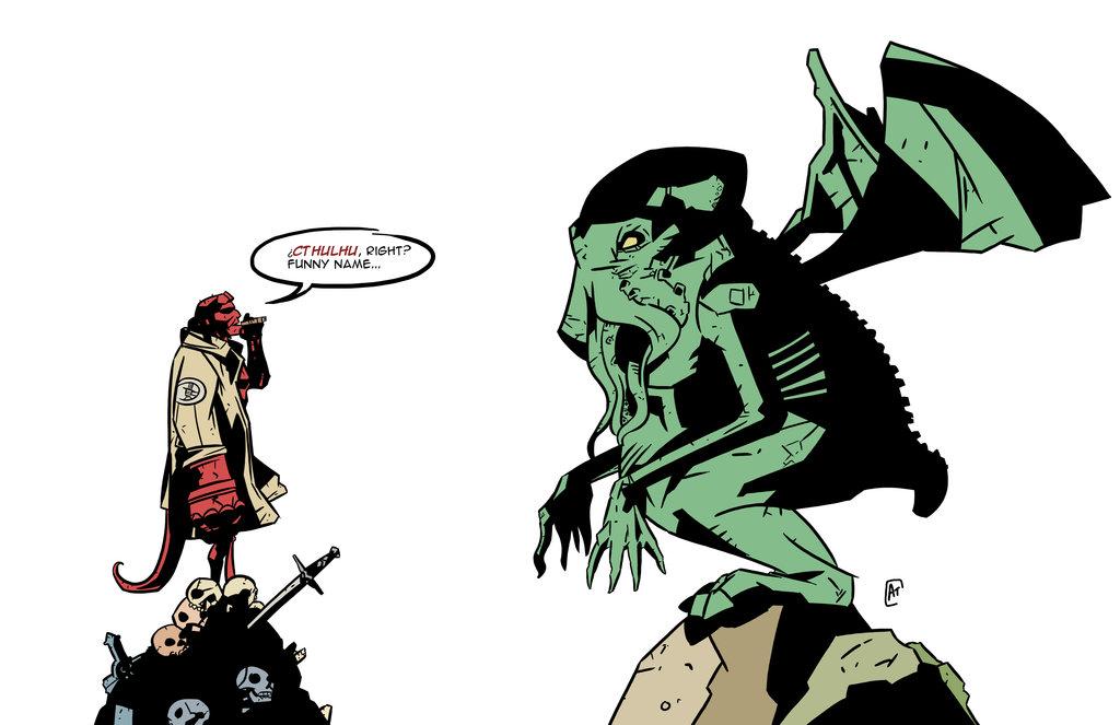 Las historias de Hellboy se encuentran llenas de seres emanados de diferentes culturas europeas, algo que explica su creador Mike Mignola.