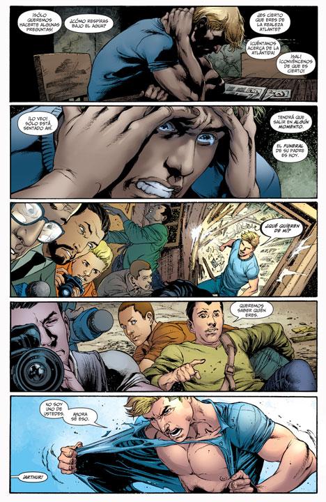 DC Comics Deluxe: Aquaman: Guerra por el trono