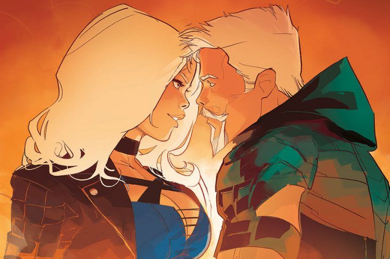 Green Arrow y Black Canary: Un romance a prueba de fuego