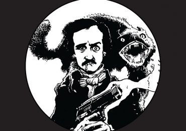 Edgar Allan Poe en La Guarida del Terror, visto por Richard Corben