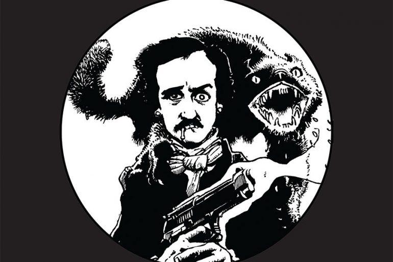 Edgar Allan Poe en La Guarida del Terror, visto por Richard Corben
