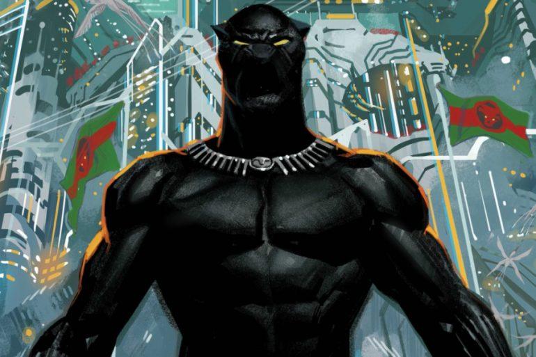 Las referencias dentro de la nueva portada de Black Panther