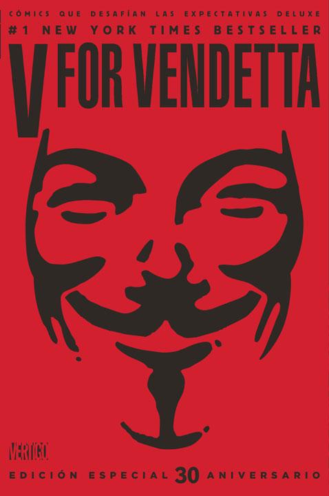Cómics Que Desafían las Expectativas Deluxe: V For Vendetta