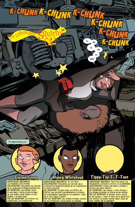 The Unbeatable Squirrel Girl: Derrota al Universo Marvel