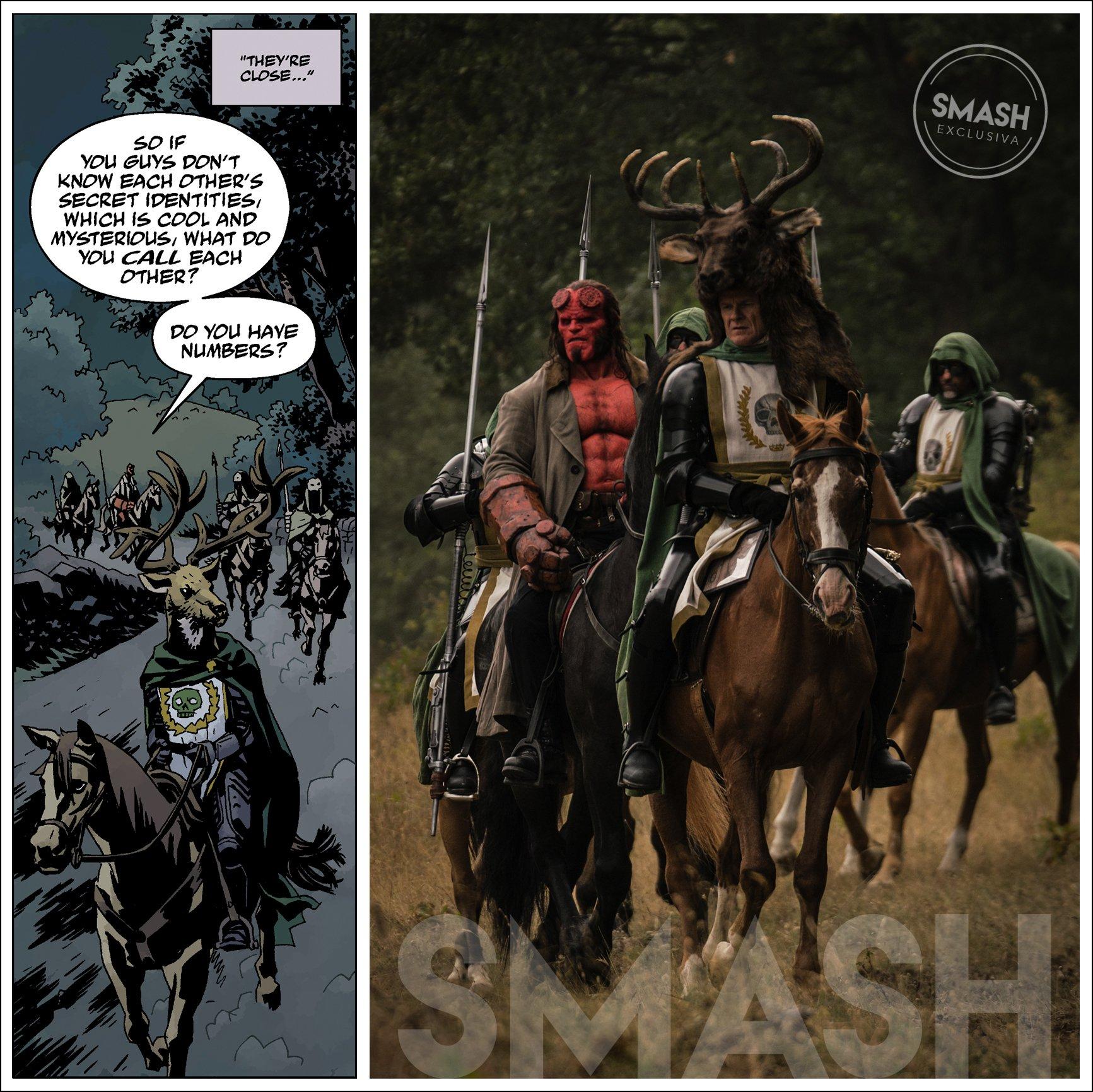 Hellboy: La historia detrás de nuestra imagen exclusiva