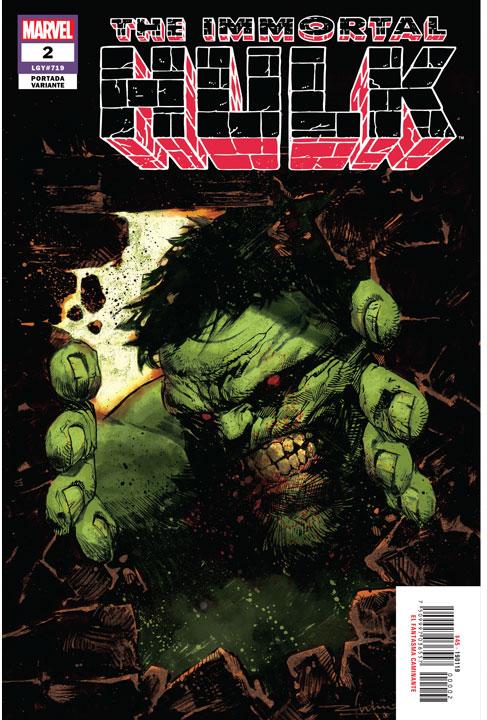 The Immortal Hulk (2018) #2. Lecturas Halloween