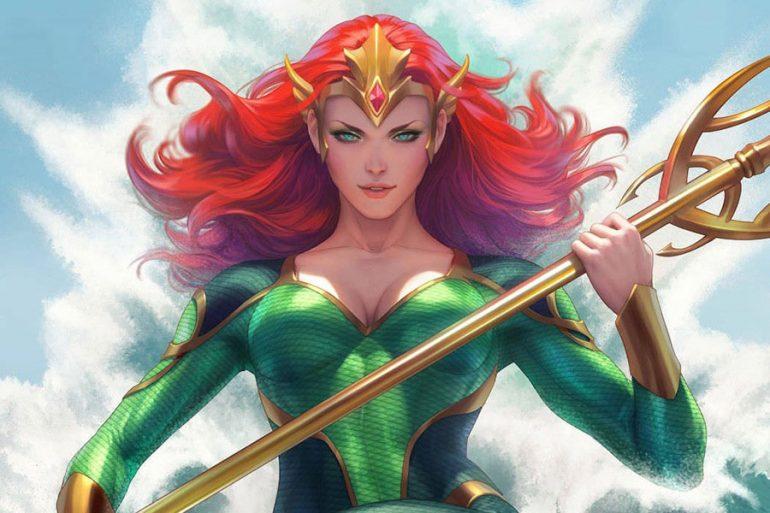 Mera: Queen of Atlantis emerge del océano al catálogo de DC Comics México