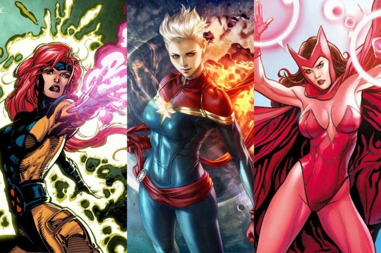 Las mujeres más poderosas del Universo Marvel