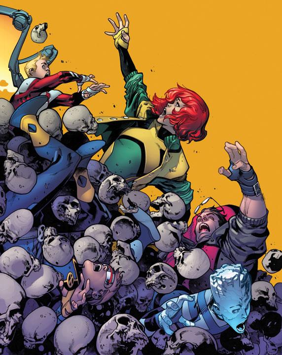 La importancia de los X-Men originales en Extermination