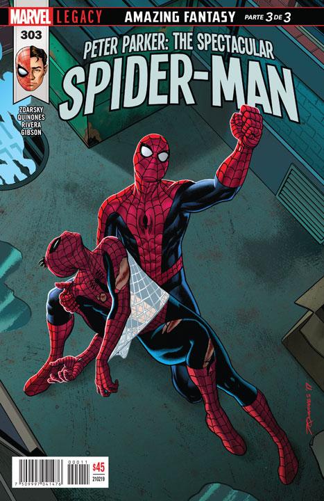 Peter Parker: The Spectacular Spider-Man #303